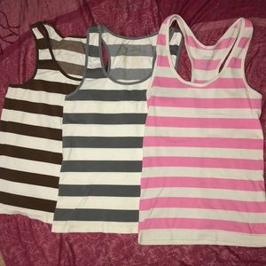 Racer back tank top bundle